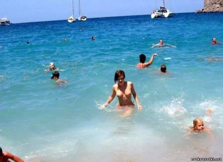 Эротика с пляжа. Альбом. Название Анапа, нудистский пляж и мой